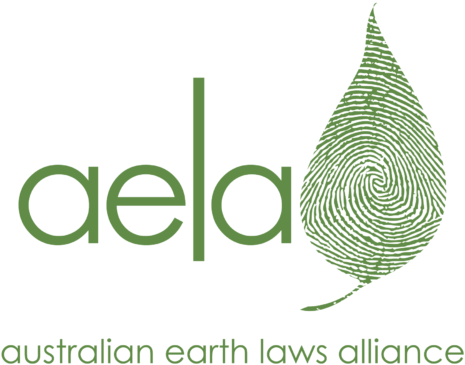 Logo for the Australian Earth Laws Alliance