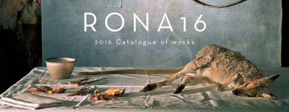 RONA16 Catalogue Cover